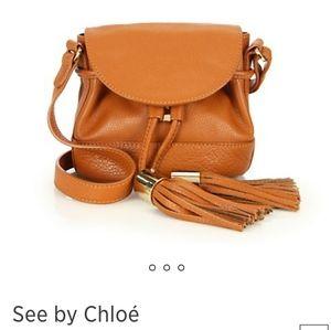 See by Chloe Vicki Flap Bucket Bag